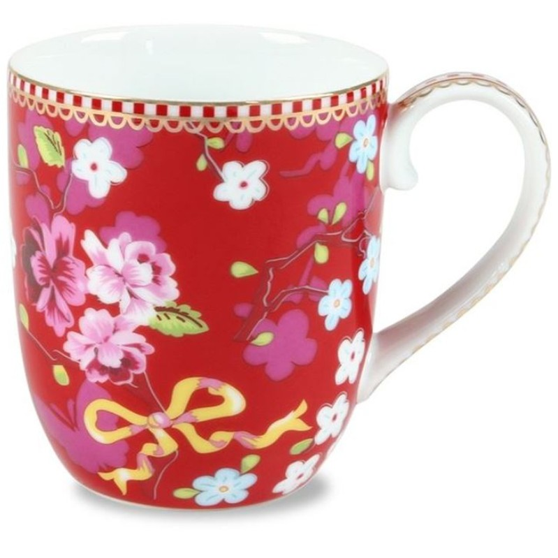 Caneca Pequena Chinese Rosa Floral Pip Studio