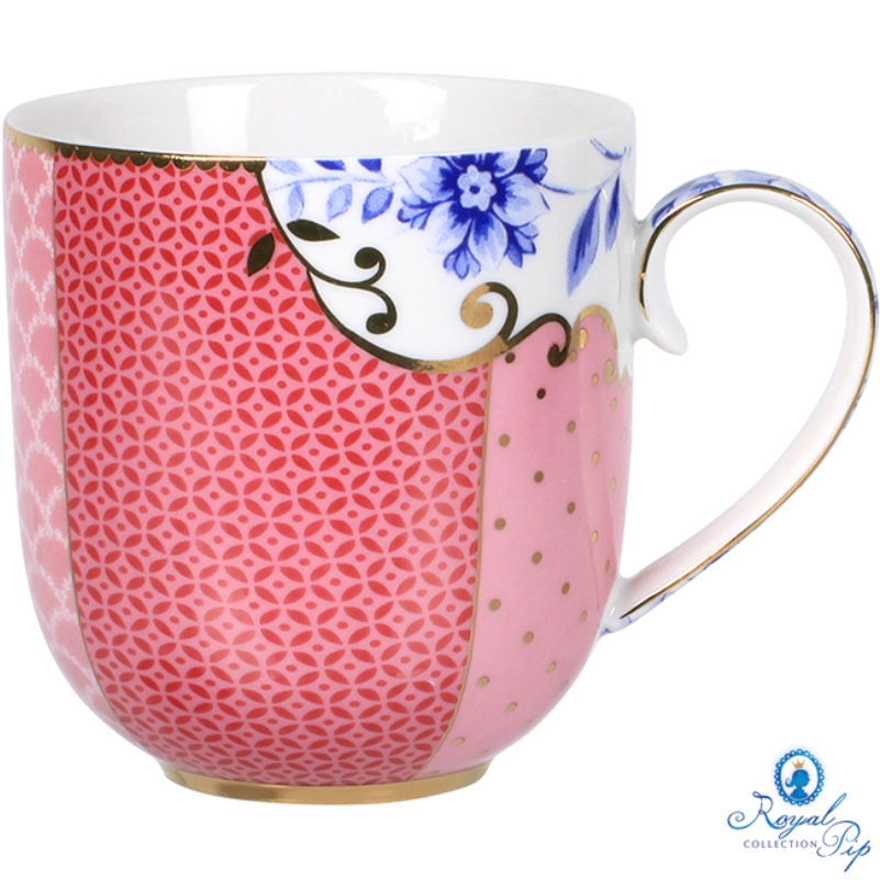 Caneca 220ml Rosa Royal Pip Studio