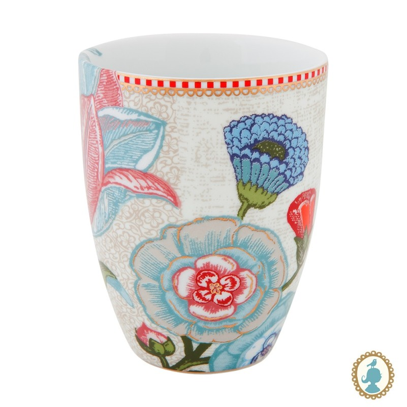 Caneca s/ Alça 220ml Off White - Spring to Life