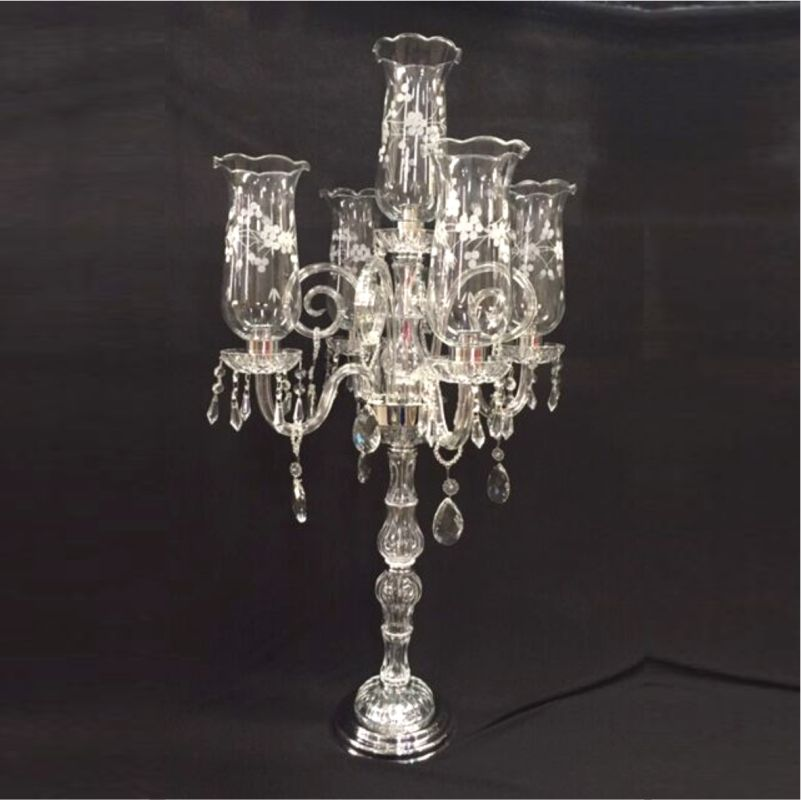 Castiçal de Cristal Transparente - Cód.: FCN107CH FR