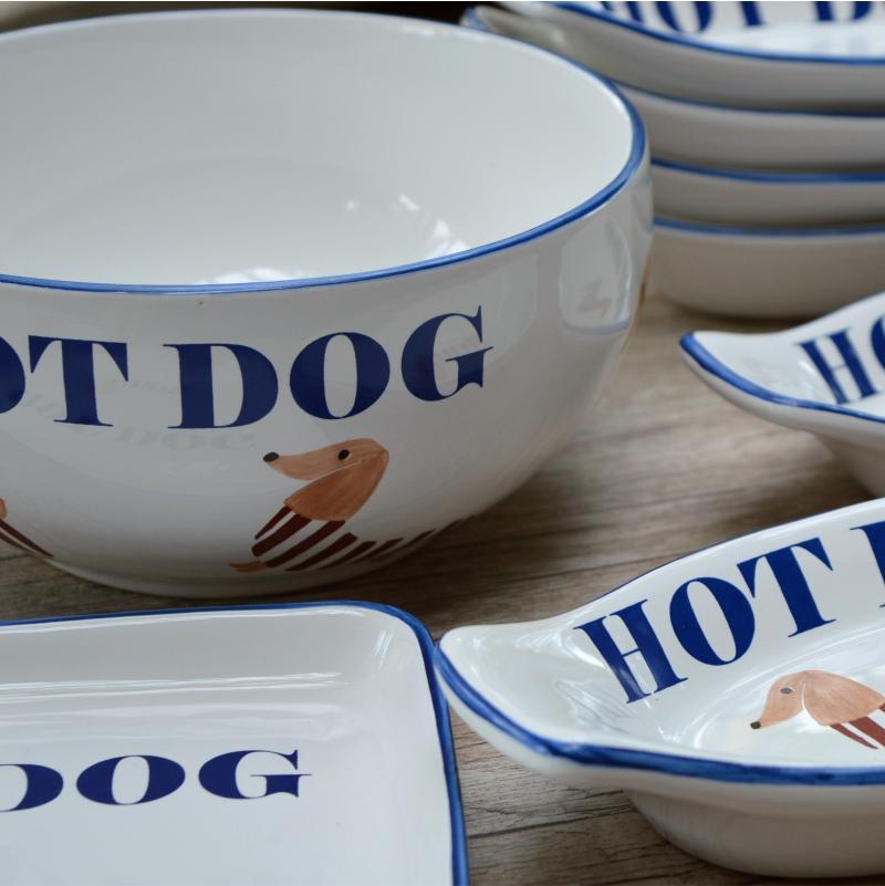 Conjunto Hot Dog - 8 Peças