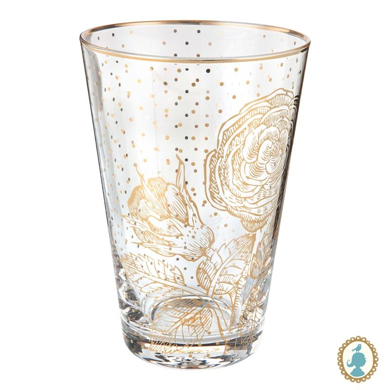 Copo Longdrink Golden Flower - Royal - Pip Studio
