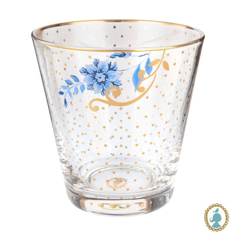 Copo para Água Golden Flower - Royal - Pip Studio