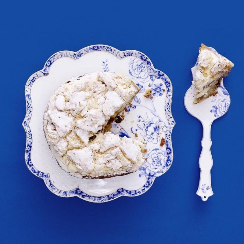 Espátula e Faca de Bolo - Royal White