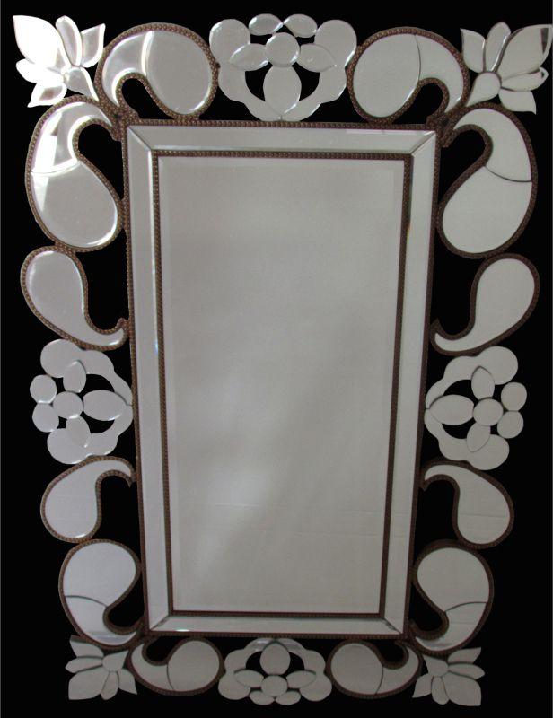 Espelho Poliresina Dourado - Cód.: WM966