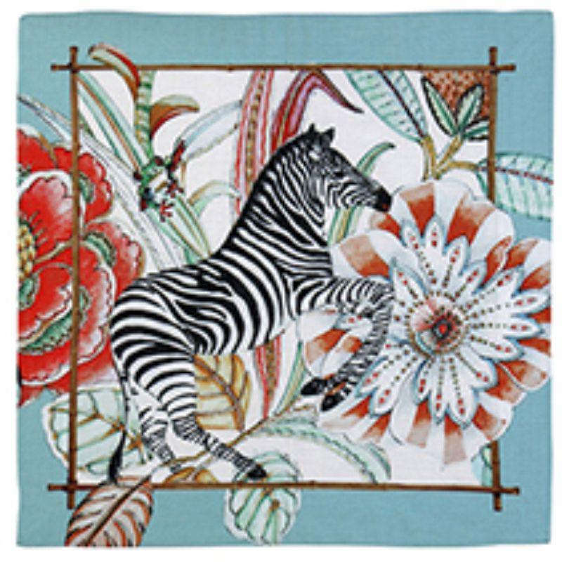 Guardanapo de Linho Forest Zebra (06 Unidades) - MB