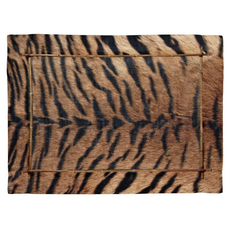 Jogo Americano de Linho Fauna Tigre (06 Unidades) - MB