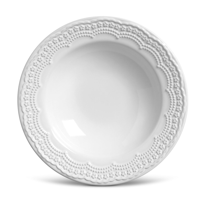 Madeleine Branco - Aparelho de Jantar 30 Peças (6 Pessoas)