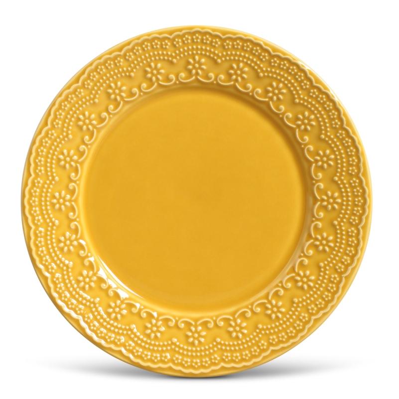 Madeleine Mostarda - Aparelho de Jantar 30 Peças (6 Pessoas)