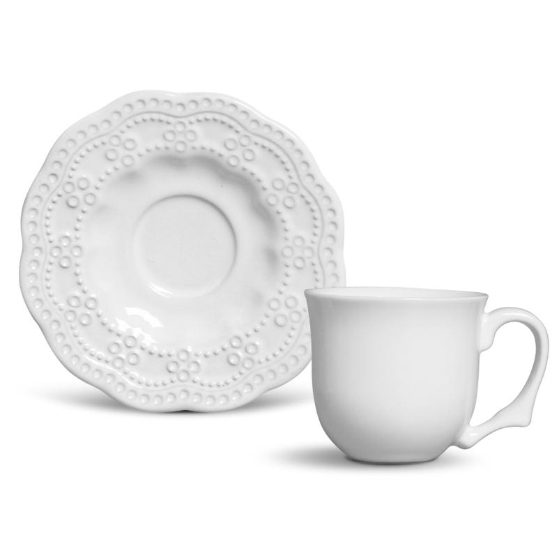 Peniche Branco - Aparelho de Jantar 42 Peças (6 Pessoas)