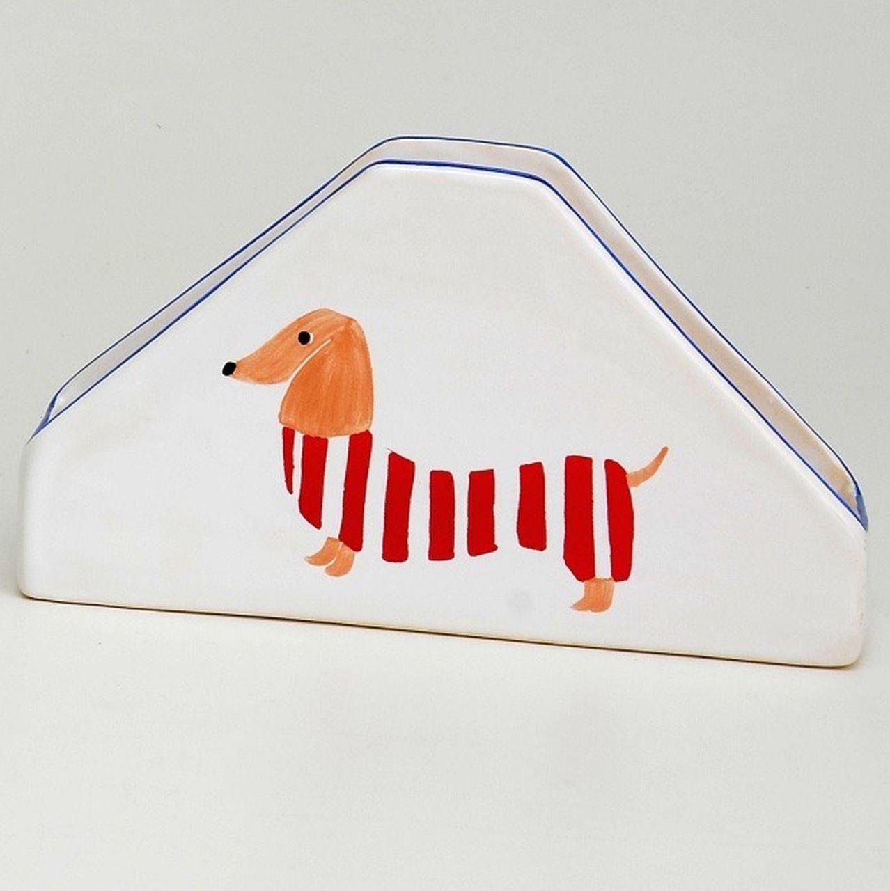 Porta Guardanapo Hot Dog Pintado à Mão - LS