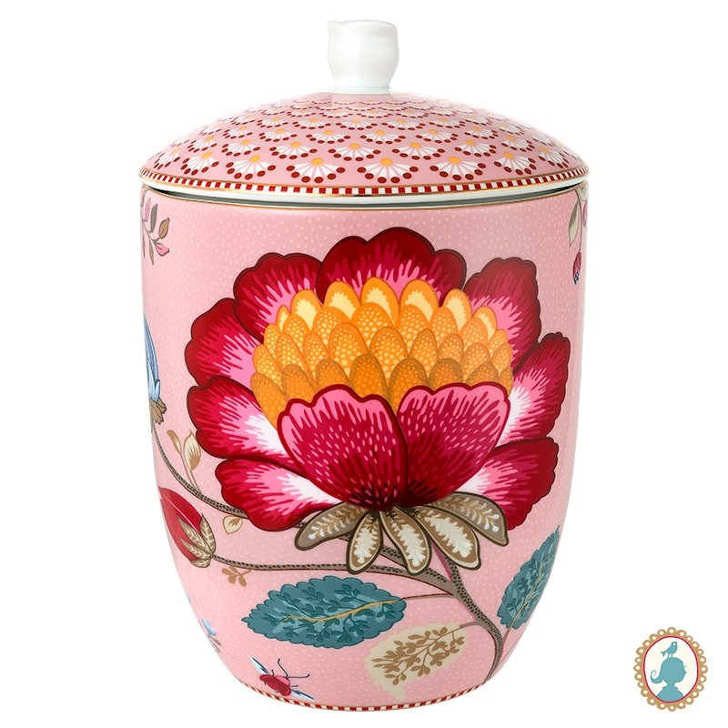 Pote Rosa - Floral Fantasy