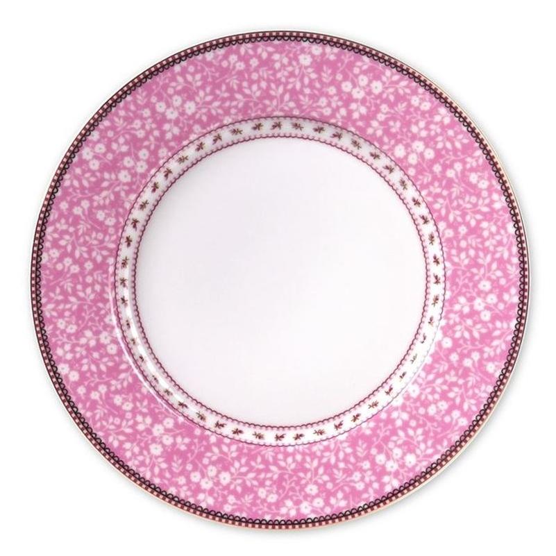 Prato Raso Floral Pip Studio Rosa