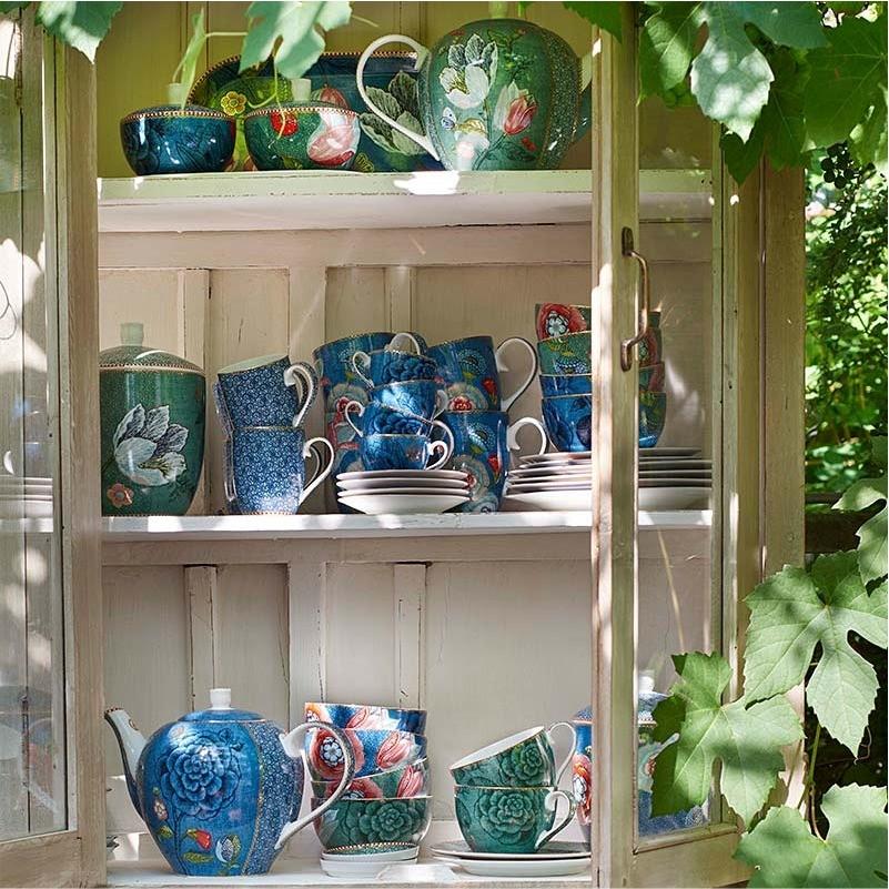 Prato de Pão 17cm Azul - Spring to Life