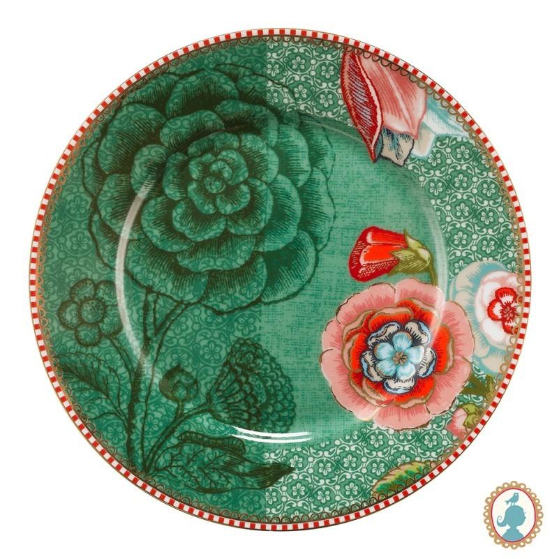 Prato de Pão 17cm Verde - Spring to Life