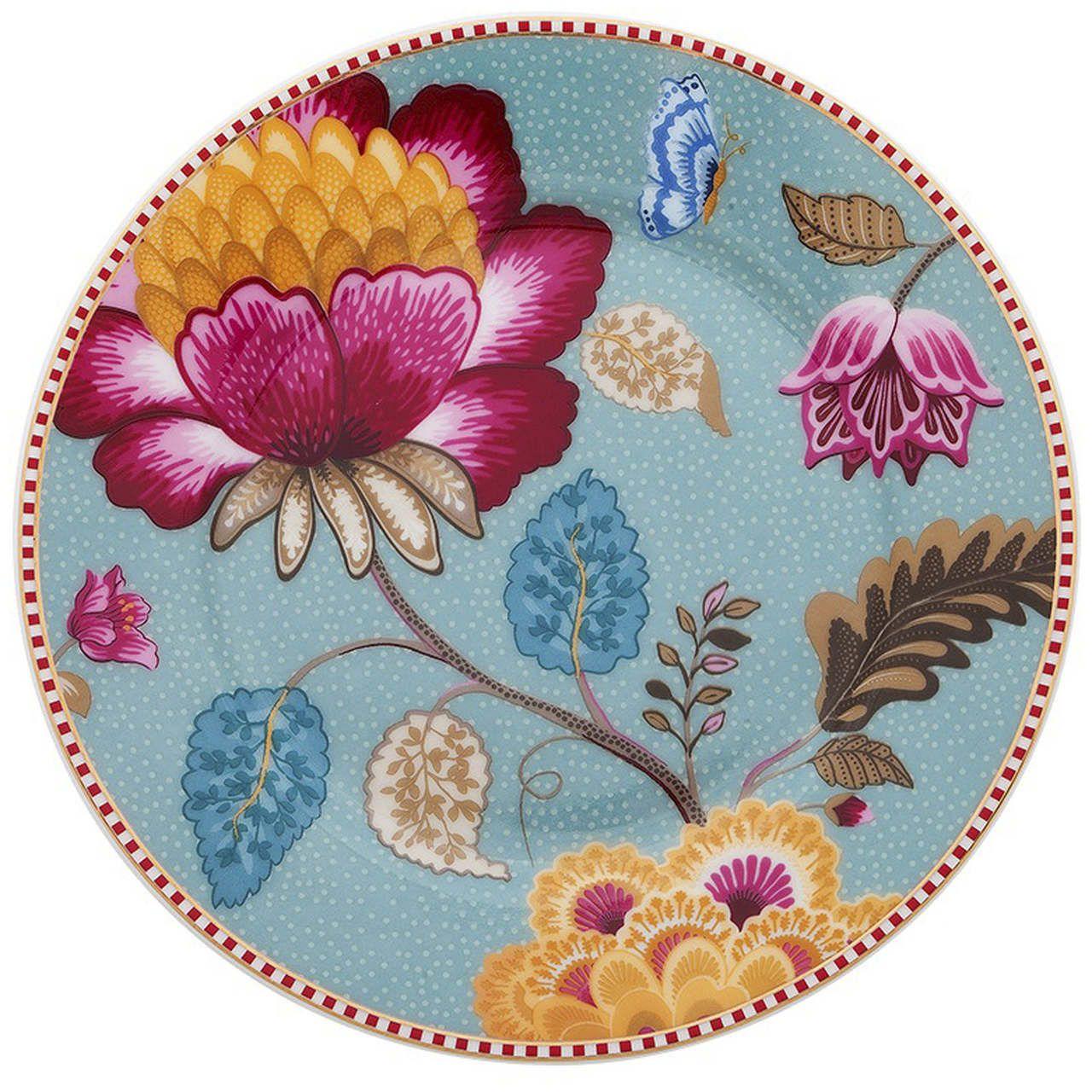 Prato de Pão Azul - Floral Fantasy - Pip Studio