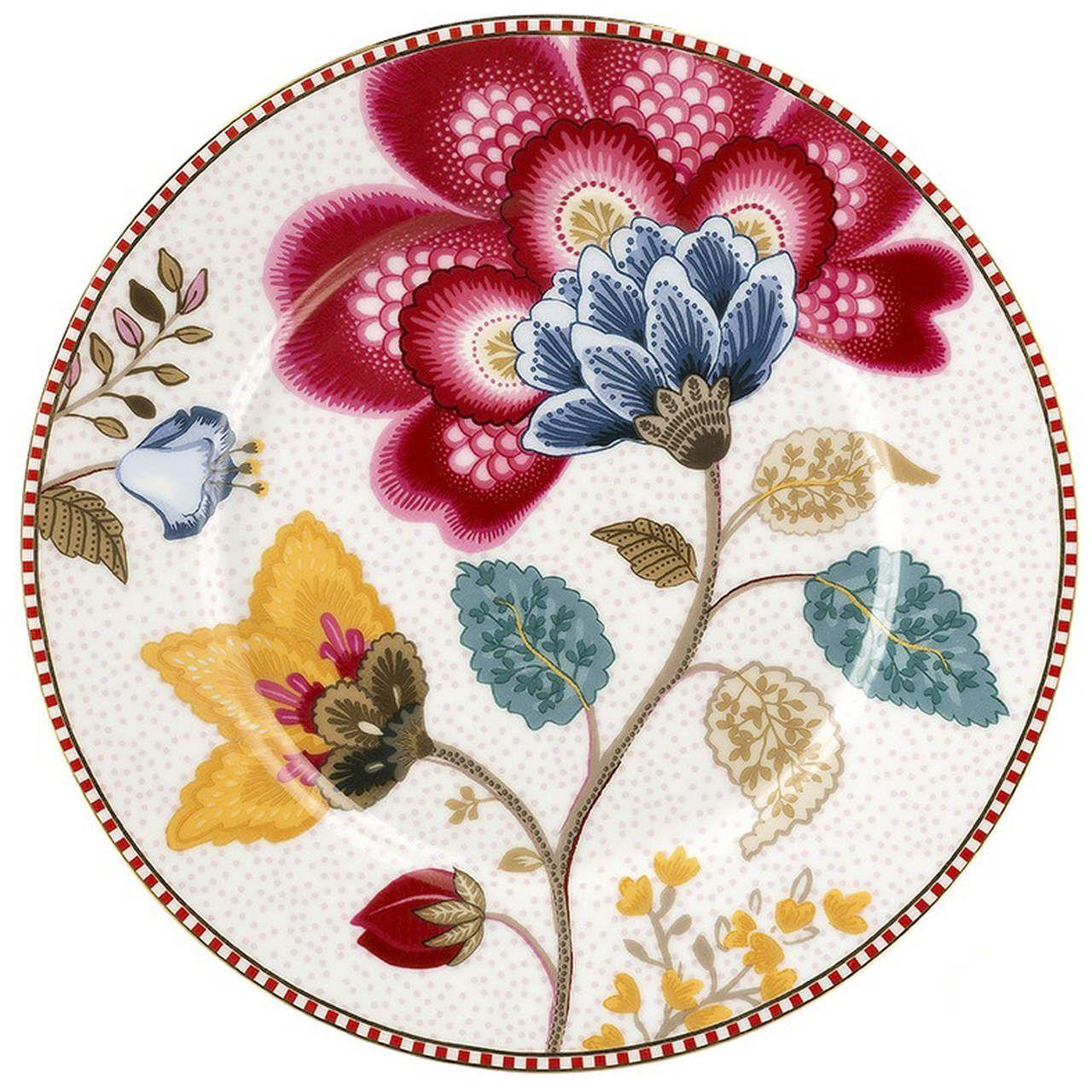 Prato de Pão Branco - Floral Fantasy - Pip Studio
