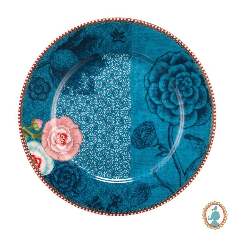 Prato Sobremesa Spring to Life Azul