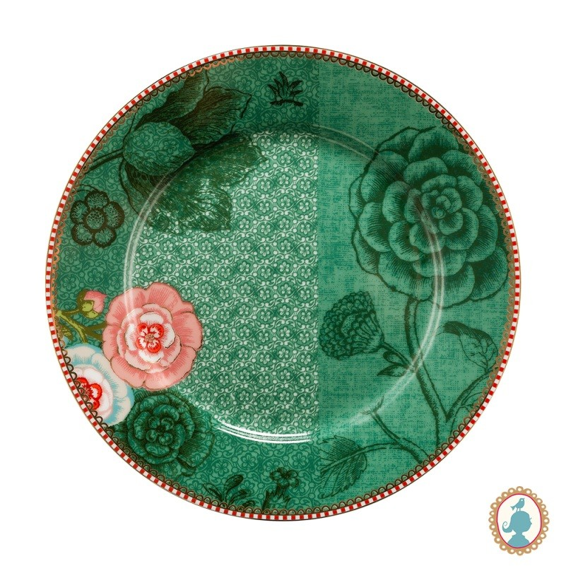 Prato Sobremesa Spring to Life Verde