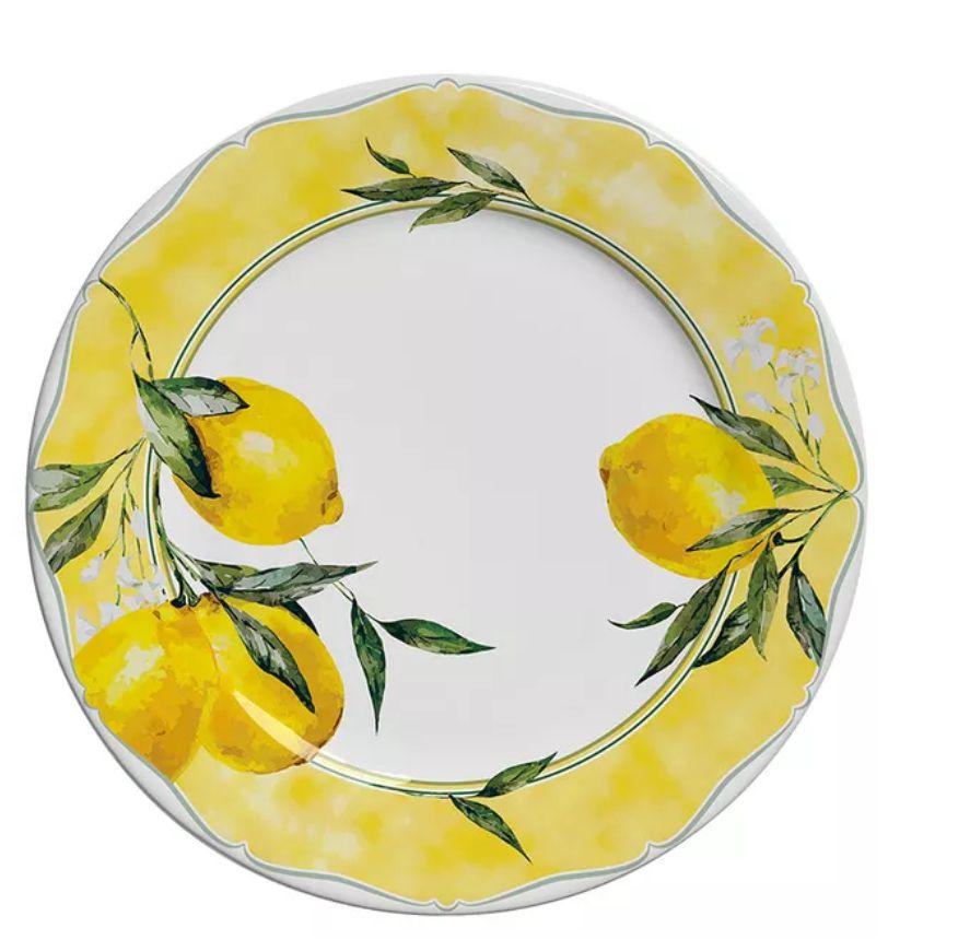Prato Sobremesa Citron (06 Unidades)
