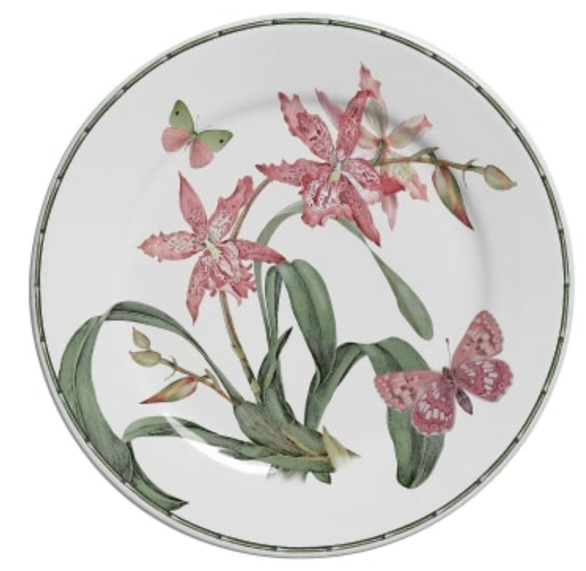 Prato Sobremesa Orquídea Concept (6 Unidades)