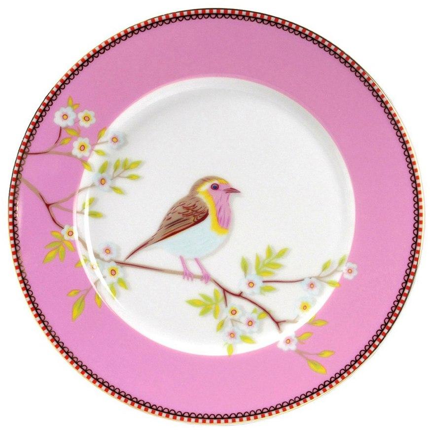 Prato de Sobremesa Rosa Early Bird Pip Studio