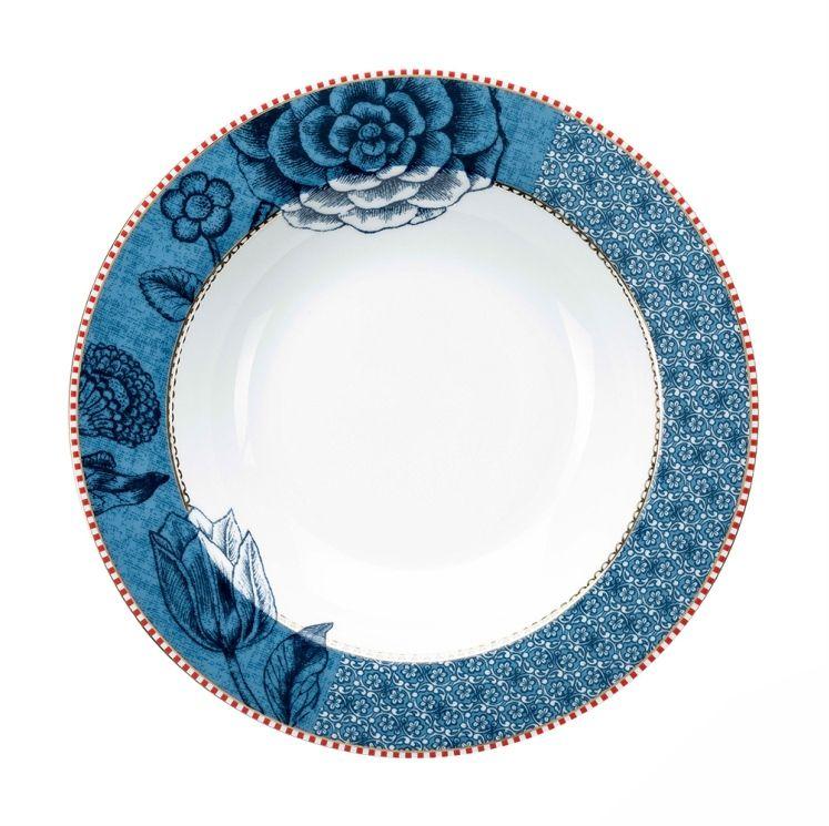 Prato Fundo Azul - Spring to Life - Cód.: 51001180