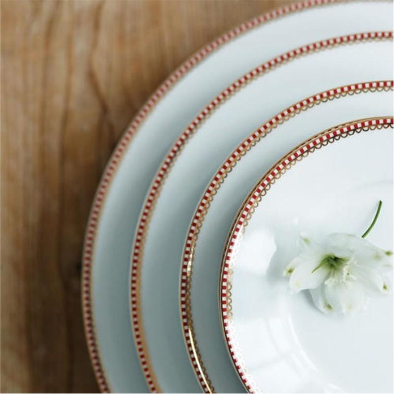 Prato Fundo Branco - Floral