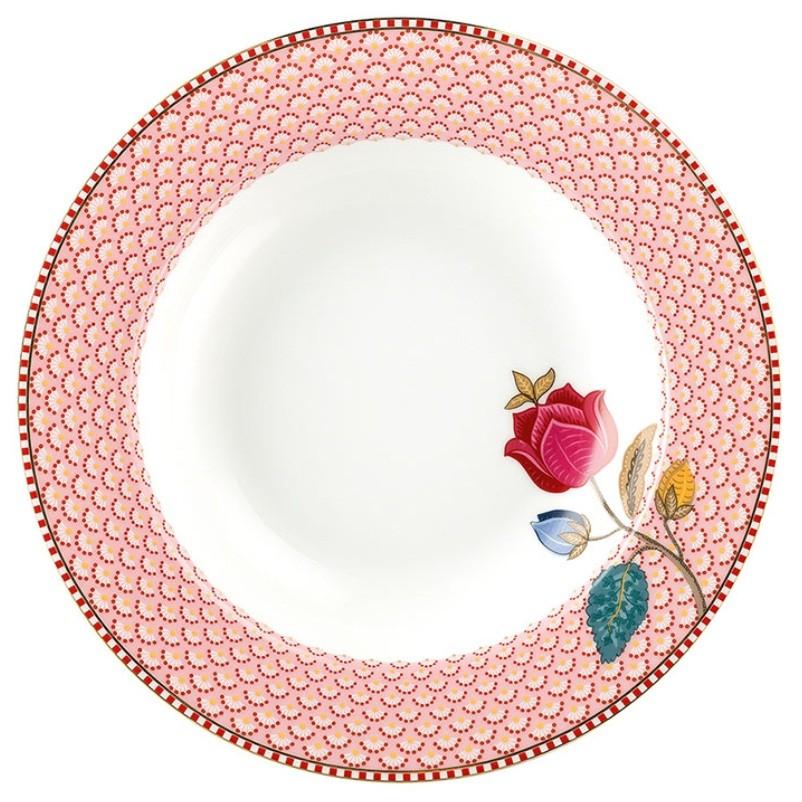 Prato Fundo Rosa Fantasy - Floral Fantasy