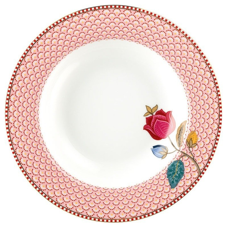 Prato Fundo Rosa Fantasy - Floral Fantasy - Pip Studio