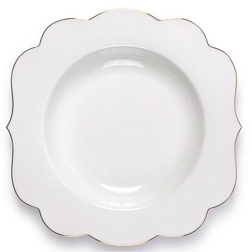 Prato Fundo Royal White