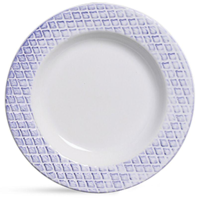 Prato Fundo Abacaxi Azul (06 Unidades)