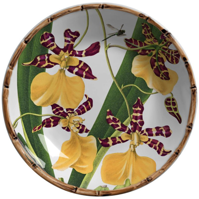 Prato Fundo Orquídeas (06 Unidades)