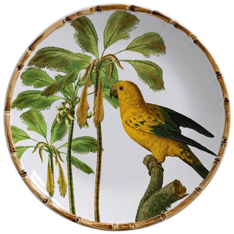 Prato Raso Aves do Brasil (6 Unidades)