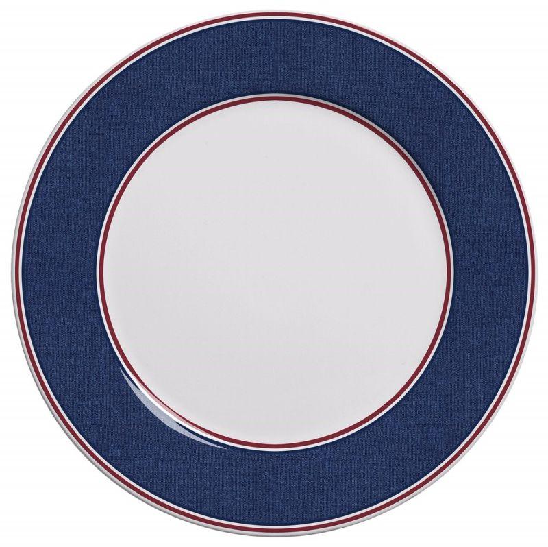 Prato Raso Azul Polo (6 Unidades)