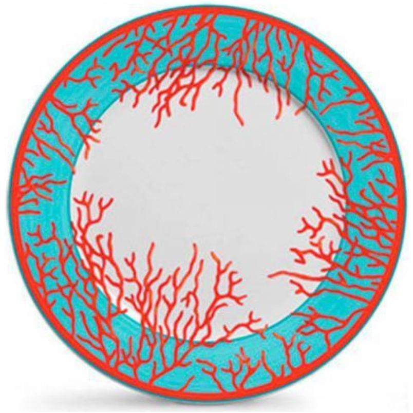 Prato Raso Coral (6 Unidades)