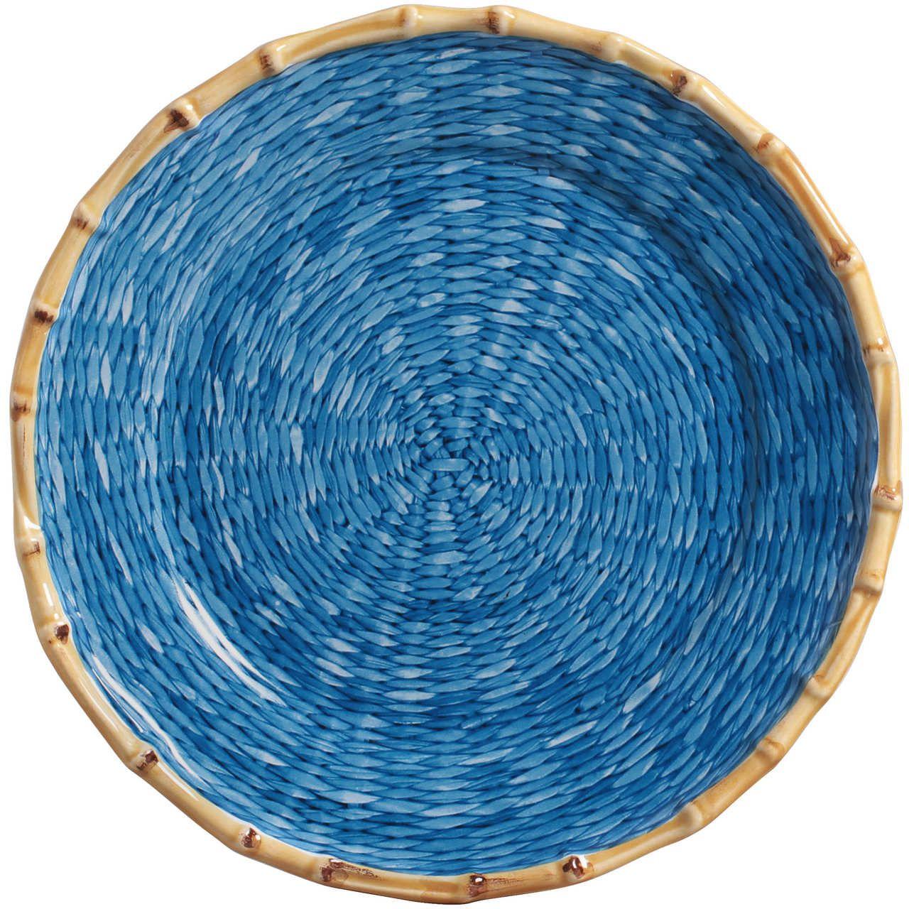 Prato Raso Corda Fina Azul (06 Unidades) Cód.: 6215 - MB
