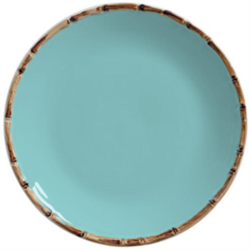 Prato Raso Liso Tiffany Forest (06 Unidades) - MB