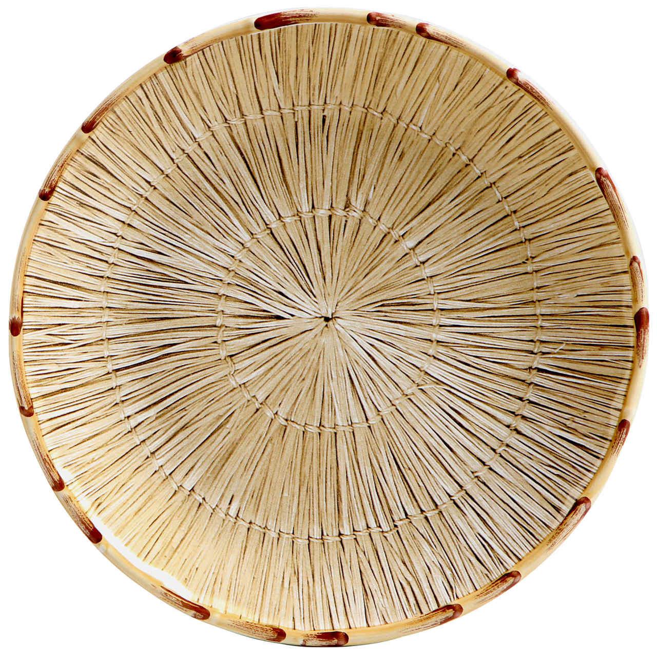Prato Raso Palha Dourado (06 Unidades) - MB