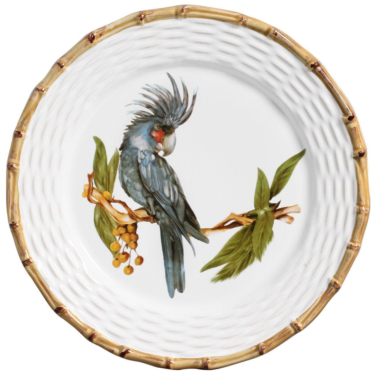 Prato Raso Tropical Birds (06 Unidades) Cód.: 6059 - MB