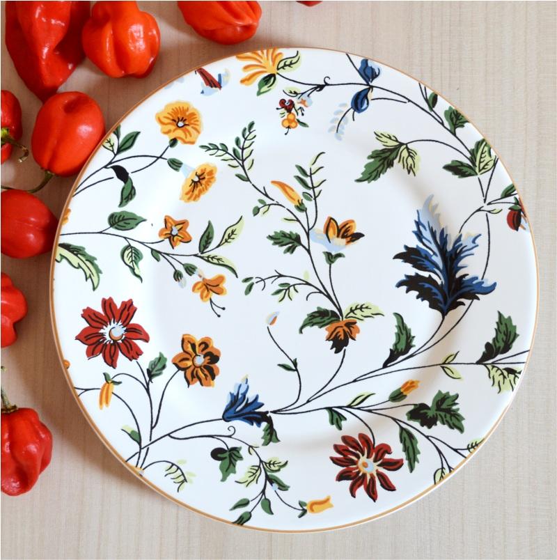 Prato Sobremesa Astúrias 20,5cm (6 Unidades)