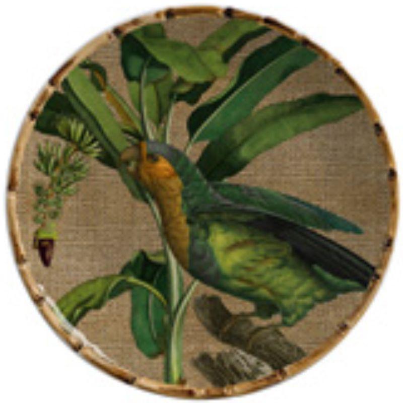Prato Sobremesa Aves do Brasil (06 Unidades) Cód.: 8246 - MB