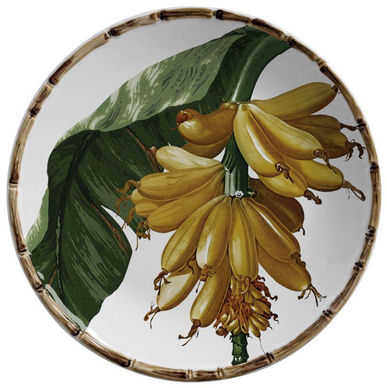 Prato Sobremesa Banana (6 Unidades)