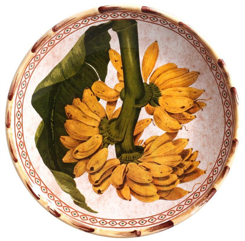 Prato Sobremesa Banana Kenya (06 Unidades) - MB