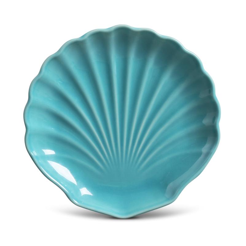 Prato Sobremesa Ocean Azul Poppy 19,5cm (6 Unidades)