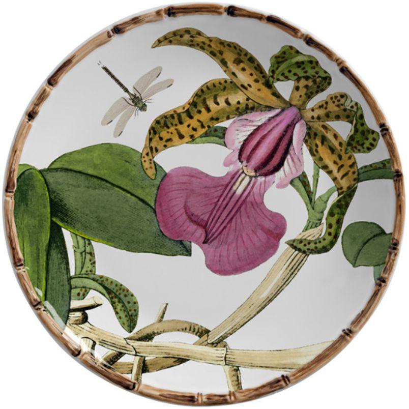 Prato Sobremesa Orquídeas (6 Unidades)