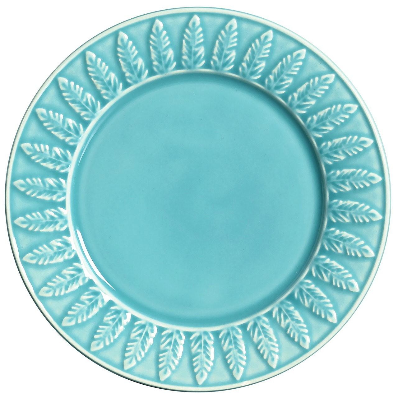 Prato Sobremesa Panache 2 Azul (06 Unidades)