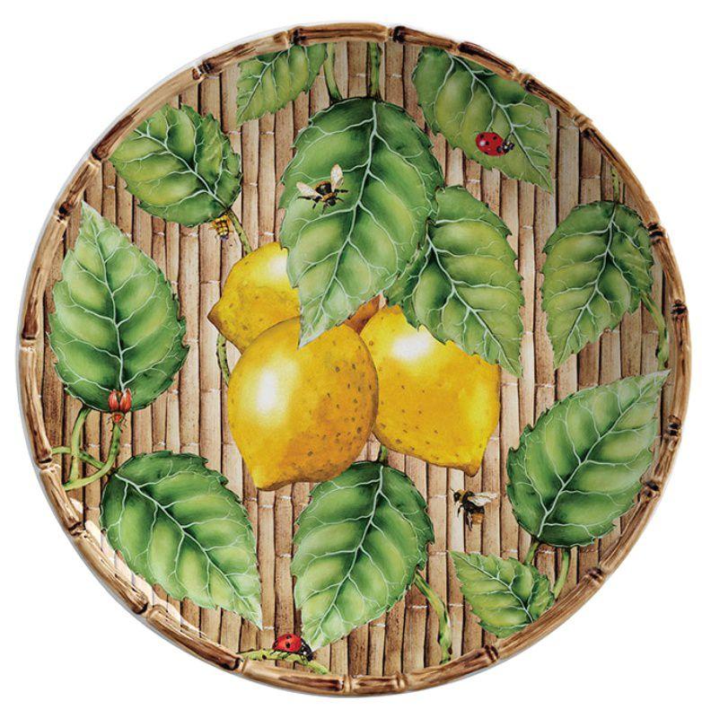 Prato Sobremesa San Remo Limón (06 Unidades)