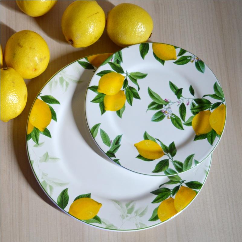 Prato Sobremesa Sicília 20,5cm (6 Unidades)