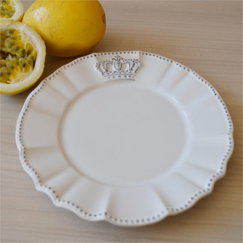 Prato Sobremesa Windsor Branco 20,5cm (6 Unidades)